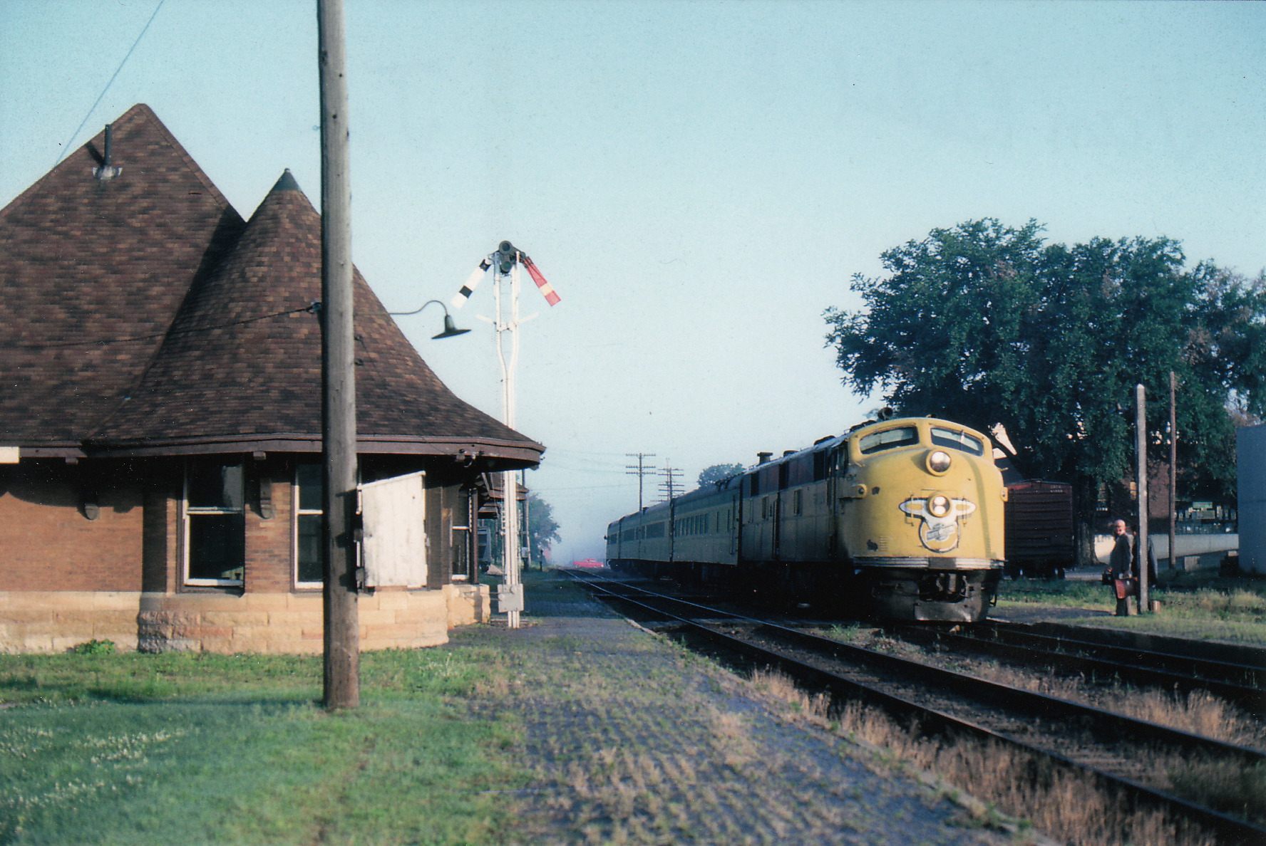 Morrison Depot and Passenger Train